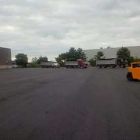 parking lot finished